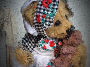 teddy  из немецкого мохера /50% до 11.08,2017 | Ярмарка Мастеров - ручная работа, handmade
