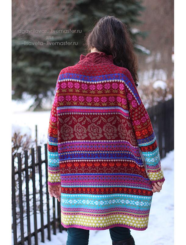 фотоотчет, вязаное платье