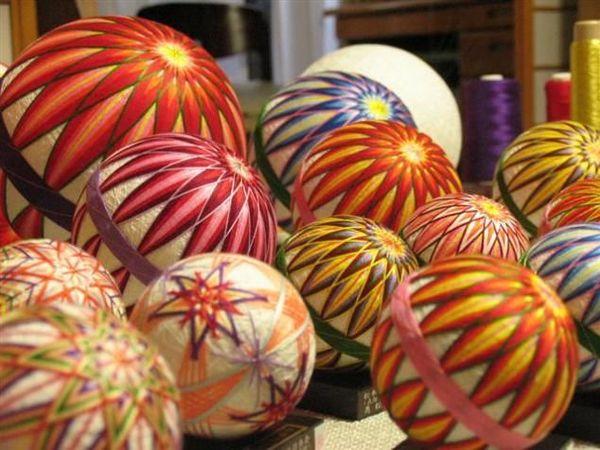 История японских шаров темари | Ярмарка Мастеров - ручная работа, handmade