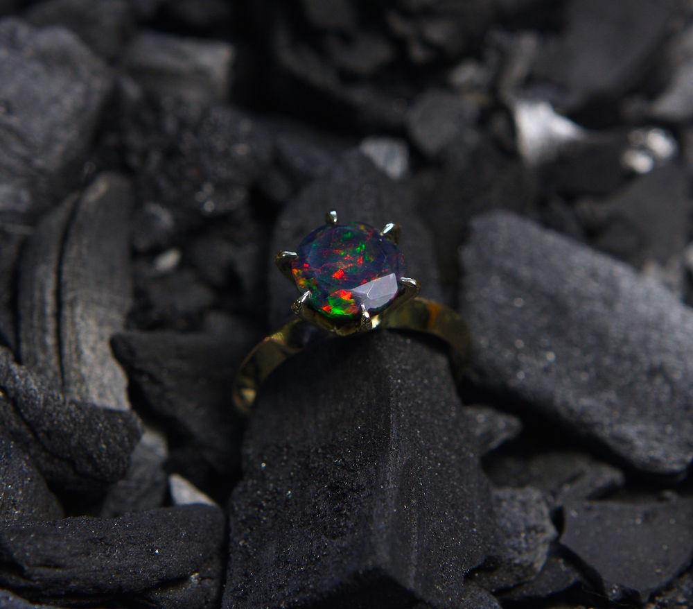 кольцо, кольцо с опалом