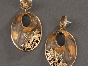 Видео. Серьги Золотой листопад, Edgar Berebi, США. Ярмарка Мастеров - ручная работа, handmade.