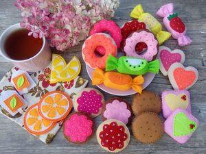 Надор сладостей для чаепития. Видеообзор.. Ярмарка Мастеров - ручная работа, handmade.