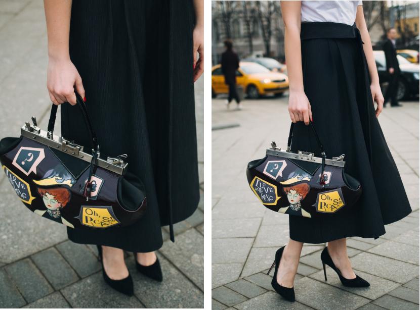 саквояж, сумка женская, сумка кожаная, сумка с рисунком, аксессуары, стиль, стильная сумка, подарок девушке