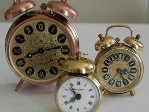 Винтажные часы до -25%. Ярмарка Мастеров - ручная работа, handmade.