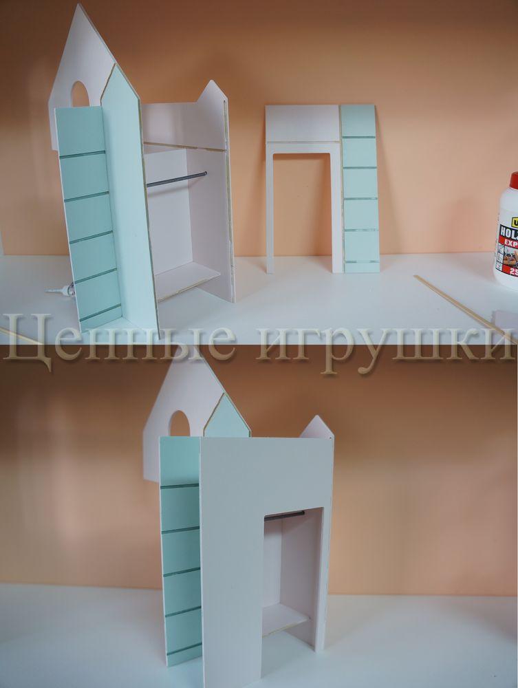 Мастер класс по сборке и оформлению кроватки домика., фото № 12
