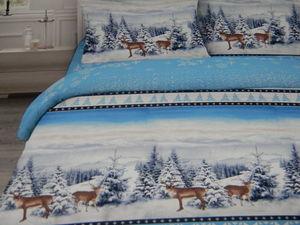 Аукцион на новогоднее постельное белье из натуральных тканей!. Ярмарка Мастеров - ручная работа, handmade.