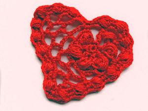 Видеоурок по вязанию крючком: «Сердечко». Ярмарка Мастеров - ручная работа, handmade.