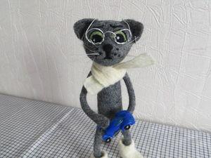Кошачья жизнь - кошачьи чувства... | Ярмарка Мастеров - ручная работа, handmade