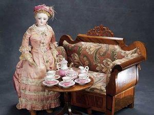 К кукле Аглае на чашку чаю, или Замечательные кукольные и детские чайные сервизы. Ярмарка Мастеров - ручная работа, handmade.