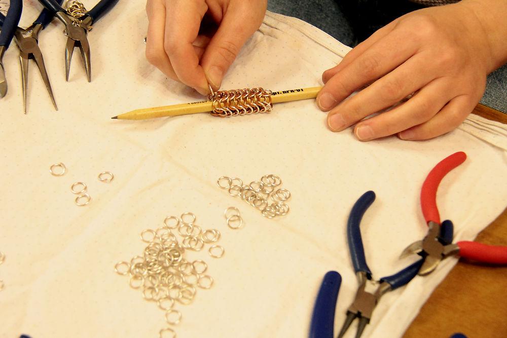 круговое плетение