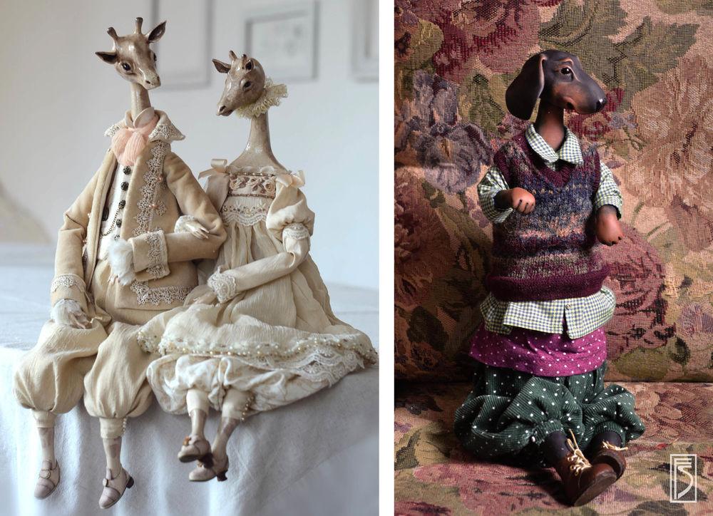 творческая мастерская, куклы