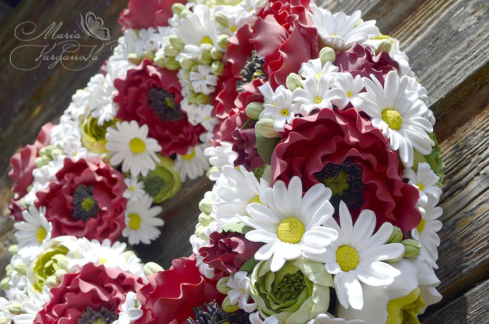 жуковский, цветы из полимерной глины