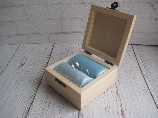 Теперь все шкатулки с валиками для колец! | Ярмарка Мастеров - ручная работа, handmade