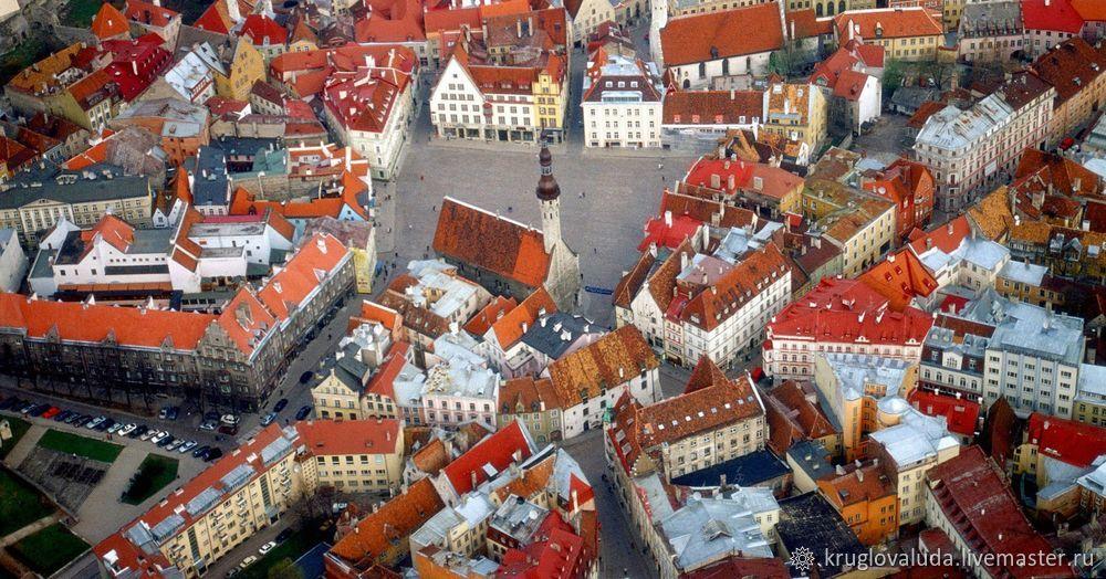 рисуем мастихином, объемная картина, рисуем эстонию