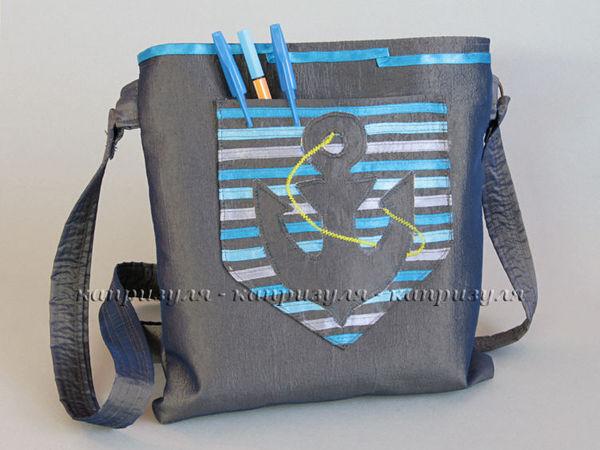 сумочки в морском стиле