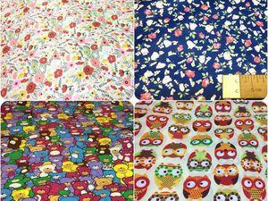 Распродажа хлопковой ткани и ткани ТиСи. Ярмарка Мастеров - ручная работа, handmade.