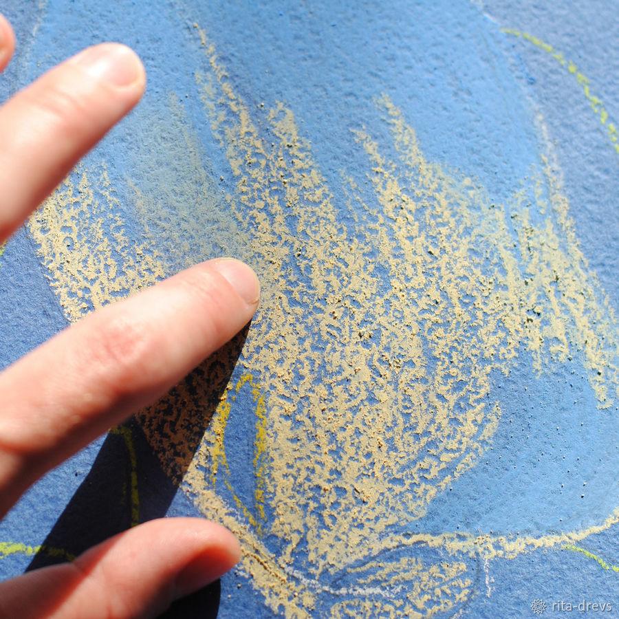 Рисуем пастелью изящный цветок каллы, фото № 5