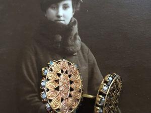 Старинные/ винтажные дамские запонки. Ярмарка Мастеров - ручная работа, handmade.