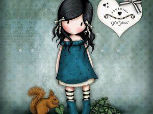 Любимица художницы Suzanne Woolcott — девочка Gorjuss. Ярмарка Мастеров - ручная работа, handmade.