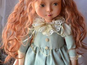 Будуарная кукла Николь. Ярмарка Мастеров - ручная работа, handmade.