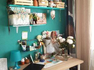 Как творить дома, когда ты мама в декрете, да еще и в однокомнатной квартире. Ярмарка Мастеров - ручная работа, handmade.
