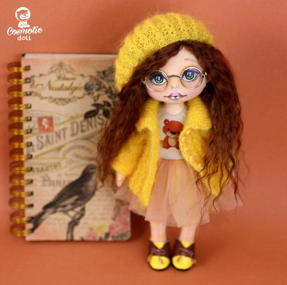 кукла в подарок, кукольное лицо роспись