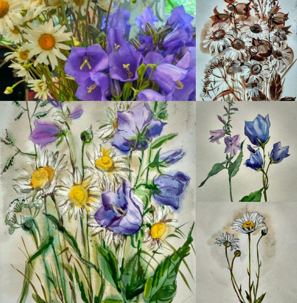 роспись, курсы рисования, ботаническая живопись, рисуем с натуры, живопись