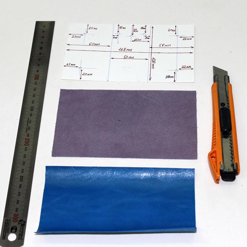 Tutorial on Making a Leather Key Bag, фото № 4