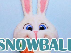 Как слепить кролика «Снежка» из мультфильма «Тайная жизнь домашних животных». Ярмарка Мастеров - ручная работа, handmade.