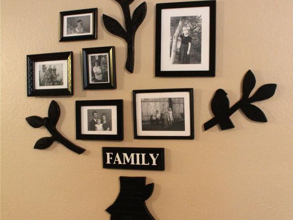 Фото Рамочки на торжество семьи и подарка.нат.дерево лазерная резка | Ярмарка Мастеров - ручная работа, handmade