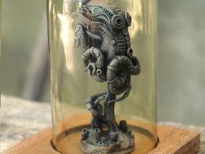 Биомеханический осьминог. Статуэтка. Ярмарка Мастеров - ручная работа, handmade.