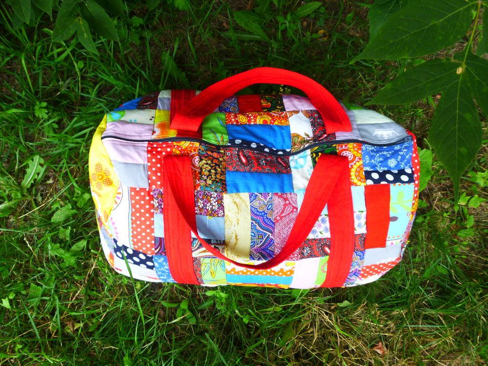 дорожная сумка, красный