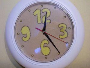 Делаем фетровый циферблат для часов. Ярмарка Мастеров - ручная работа, handmade.
