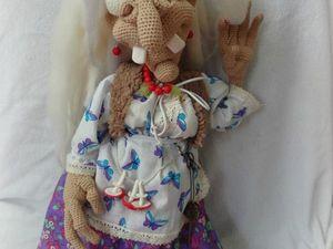 Бабка ежка не костяная ножка. Ярмарка Мастеров - ручная работа, handmade.