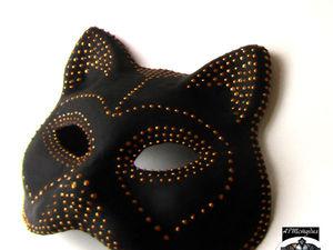 Мастер-класс по декорированию карнавальных масок   Ярмарка Мастеров - ручная работа, handmade