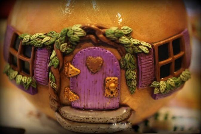 Сказочные домики из тыквы