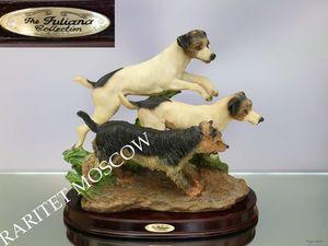 Собака охота статуэтка фарфор Англия 86. Ярмарка Мастеров - ручная работа, handmade.