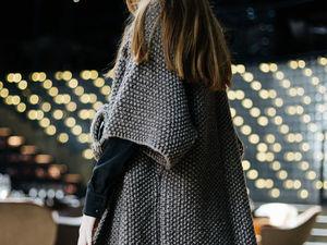 Снова в наличии вязанные пальто. Ярмарка Мастеров - ручная работа, handmade.