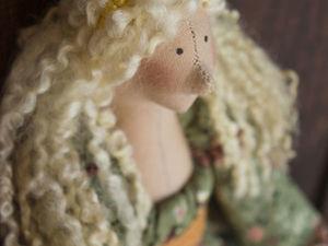 Куколка в деревенском стиле. Ярмарка Мастеров - ручная работа, handmade.