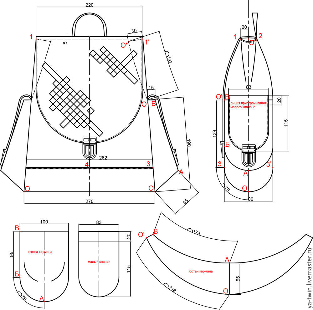 Всё для пошива рюкзаков шпация детские рюкзаки ранцы г москва