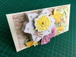 Собираем 3D конверт для денег+шаблоны. Ярмарка Мастеров - ручная работа, handmade.