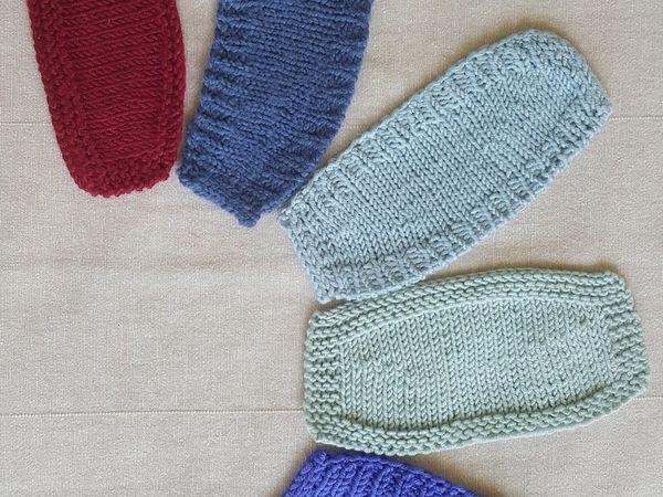 5 способов вязания укороченными рядами | Ярмарка Мастеров - ручная работа, handmade