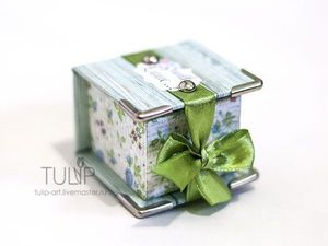 DIY Project on How to Create a Ring Gift Box. Livemaster - handmade