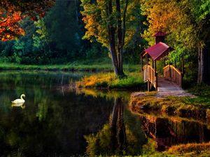 Приближается чудесная пора — осеньВремя умиротворения, тишины и внутренней гармонии. Ярмарка Мастеров - ручная работа, handmade.