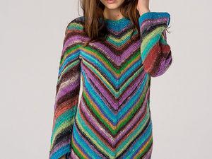Только сегодня!!! Шикарное платье из пряжи Норо всего за 15000!!!. Ярмарка Мастеров - ручная работа, handmade.