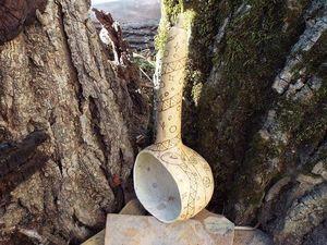 Ковшик из лагенарии. Ярмарка Мастеров - ручная работа, handmade.