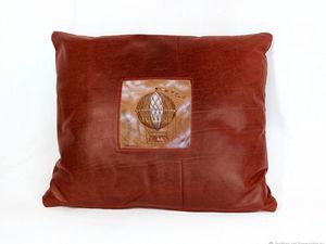 Чемпионат мира или кожаная подушка. Ярмарка Мастеров - ручная работа, handmade.