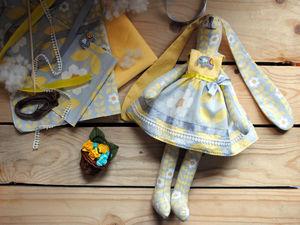 Шьем зайца Тильду. Ярмарка Мастеров - ручная работа, handmade.