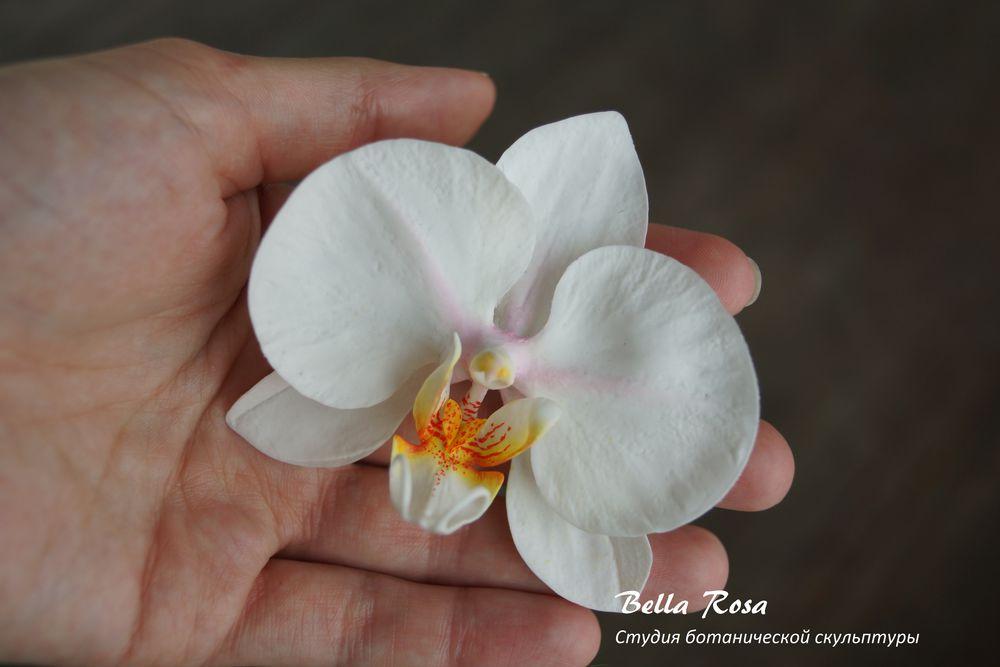 полимерная глина, холодный фарфор, лепка цветов, белла роза