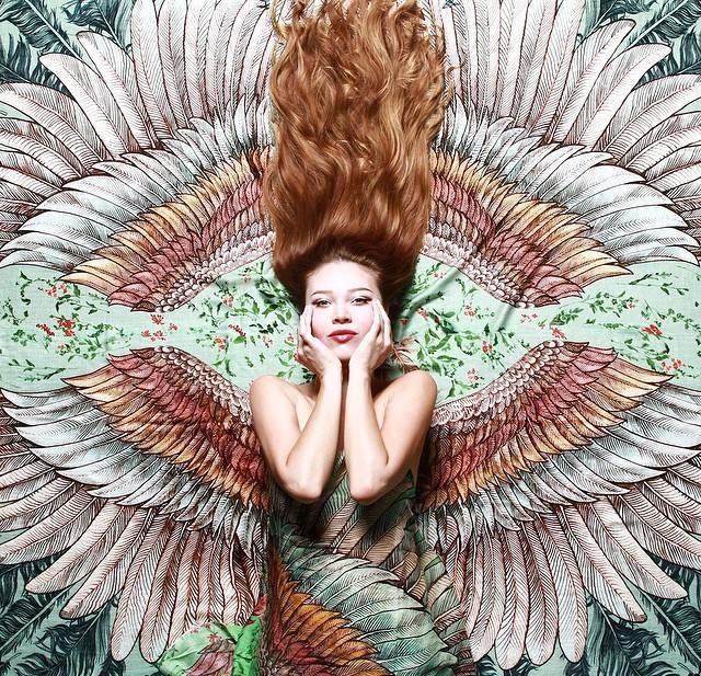 Когда вырастают крылья: завораживающие палантины Розы Хамитовой, фото № 9